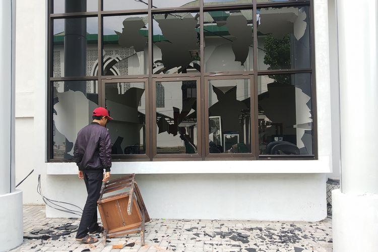 Kondisi kerusakan Kampus UIN Mataram