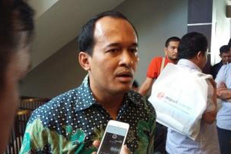 Direktur Eksekutif Populi Center Nico Harjanto, saat ditemui di Menteng, Jakarta Pusat, Sabtu (29/8/2015).