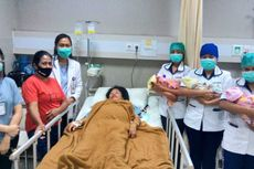 Kisah Efi Lahirkan Bayi Kembar 3, Sang Suami Menghilang dan Asuh 6 Anak Seorang Diri