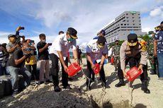 Jelang Tahun Baru, Polda Maluku Musnahkan 28.531 Liter Minuman Beralkohol Tradisional