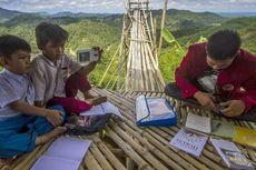 Ketimpangan Pendidikan Si Kaya dan Si Miskin Saat Pandemi, Orangtua di Ladang Tak Bisa Dampingi Anaknya Belajar