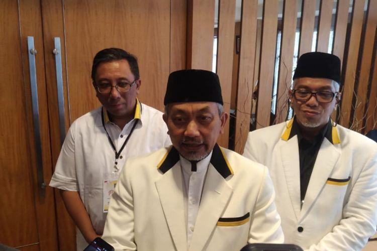 Ketua DPW PKS Jabar saat menghadiri Rapat Koordinasi Wilayah PKS Jabar di Hotel Grand Pasundan, Jalan Peta, Kota Bandung, Sabtu (19/10/2019).