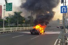 Mustang Shelby GT500 Terbakar di Jalan, Ingat Pentingnya Bawa APAR