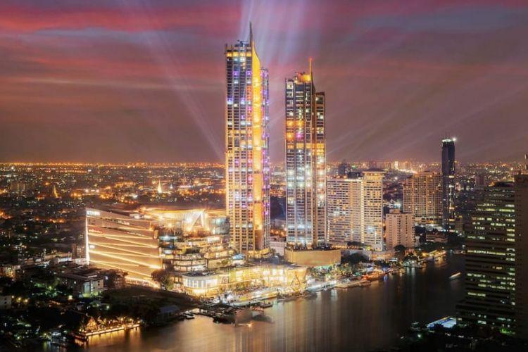 Iconsiam di Bangkok, Thailand.