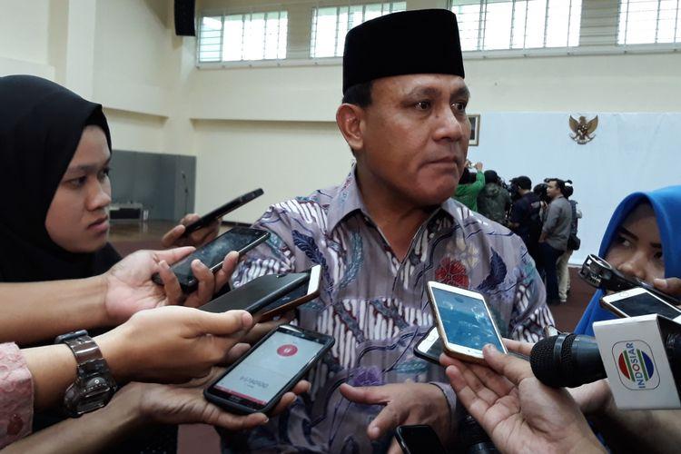 Deputi Penindakan Brigjen (Pol) Firli di Gedung KPK Jakarta, Jumat (6/4/2018).