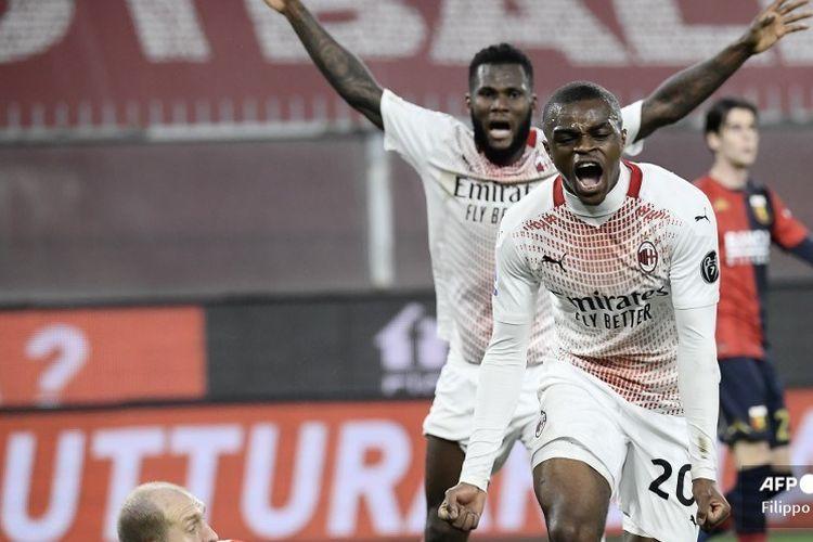 Hasil Genoa Vs Ac Milan Curi Satu Poin Milan Bertahan Di Puncak Klasemen