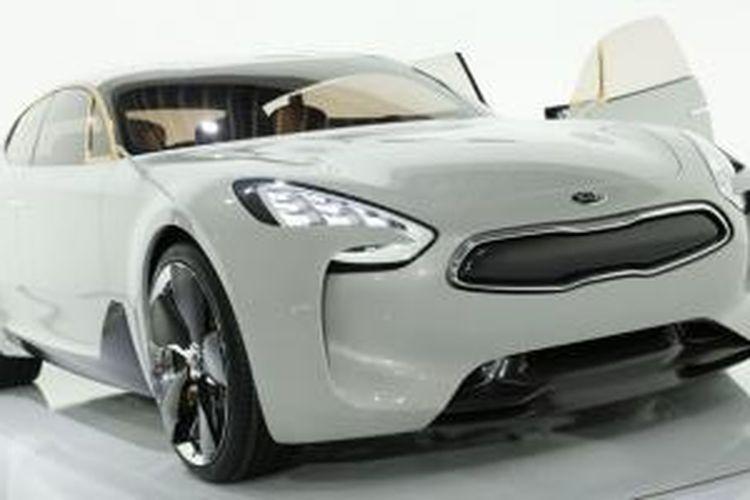 Mobil GT konsep Kia yang dijadwalkan meluncur 2017 mendatang.