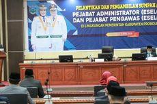 Pemkab Probolinggo Lantik Pejabat saat Pandemi Corona, Undangan Terbatas dan Pakai Masker