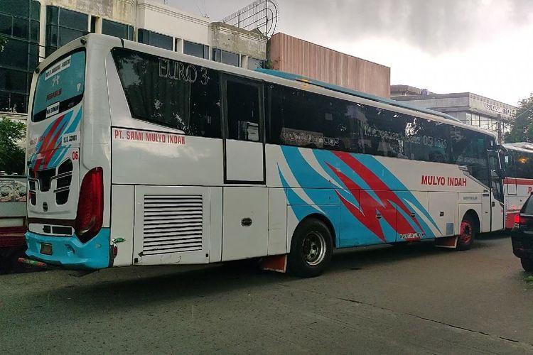Bus AKAP PO Mulyo Indah