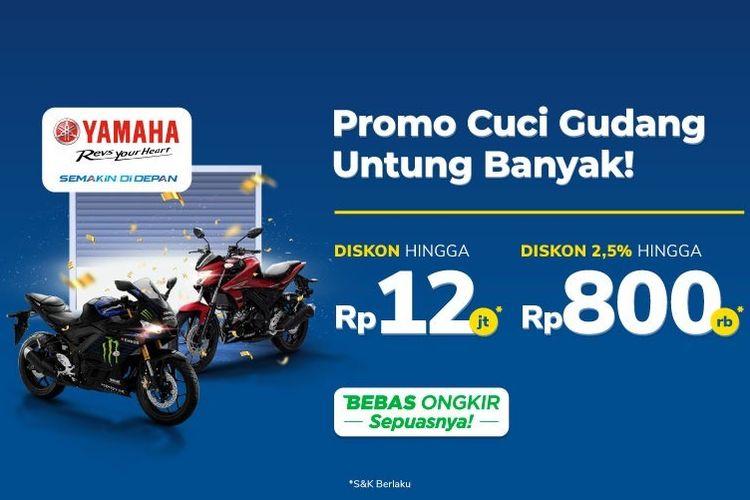 Promo Yamaha di Tokopedia