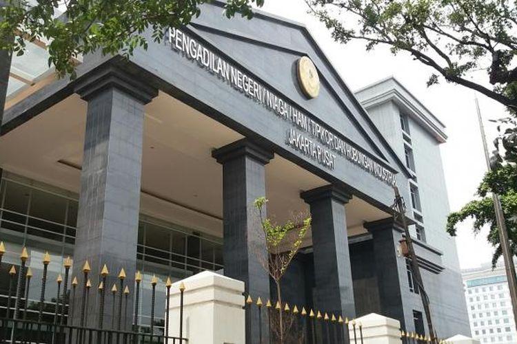 Gedung Pengadilan Negeri/Niaga/HAM/Tipikor Jalan Bungur Besar, Kemayoran, Jakarta Pusat