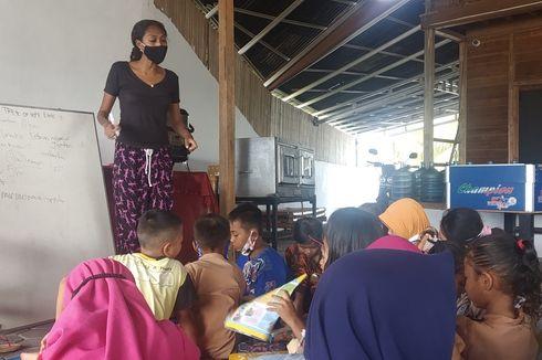 Kisah Ruth Seran, Beri Kursus Gratis 5 Bahasa Asing ke Anak-anak Pesisir Lombok