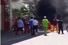 Pemilik Motor yang Terbakar di SPBU Pamulang Sering Beli Bensin dengan Jeriken