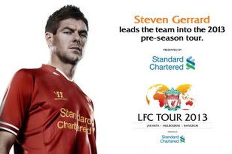 Liverpool akan menjalani tur Asia-Australia ke Jakarta (20/7/2013), Melbourne (24/7/2013), dan Bangkok (28/7/2013).