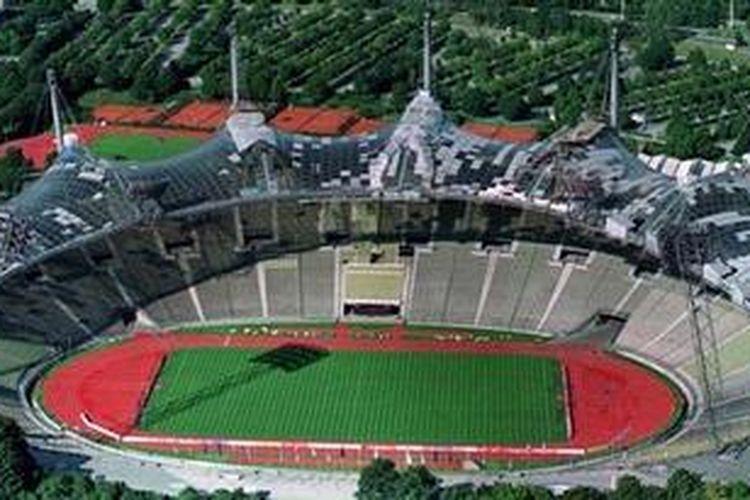 Olympiastadion Produk Gengsi Yang Futuristik Kompas Com