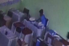 Terekam CCTV, Pelajar dan Buruh Bangunan yang Mencuri di Sekolah Diringkus Polisi