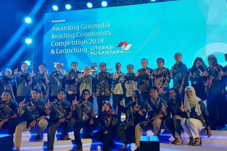 Gramedia Reading Community Competition (GRCC) 2018, Balai Kartini, Jakarta, 28 September 2018.