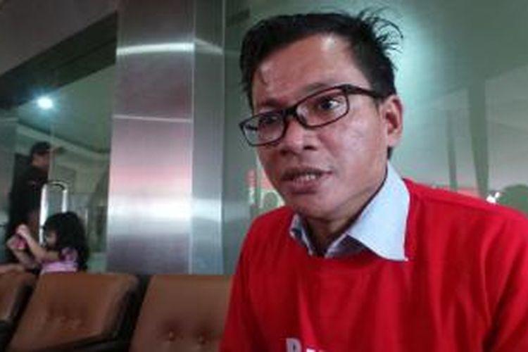 Aktivis yang juga kuasa hukum Bambang Widjojanto, Usman Hamid