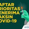 INFOGRAFIK: Daftar Prioritas Penerima Vaksin Covid-19