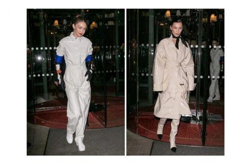 Bella dan Gigi Hadid Tampil Unik dan Beda Gaya di Pesta Louis Vuitton