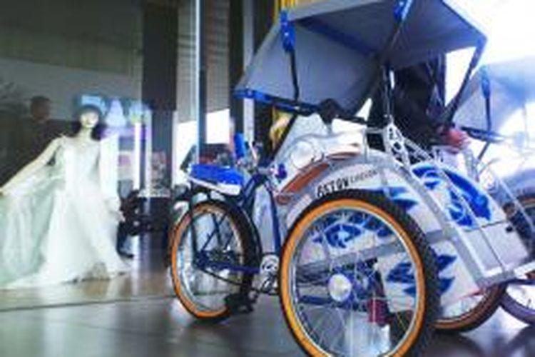 Becak Mini sebagai tambahan fasilitas untuk anak-anak yang menginap di Aston Cirebon Hotel & Convention Center