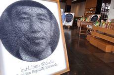 Cerita Difabel Lumpuh Otak Bikin Lukisan Benang Wajah Jokowi, 5 Hari Baru Selesai...