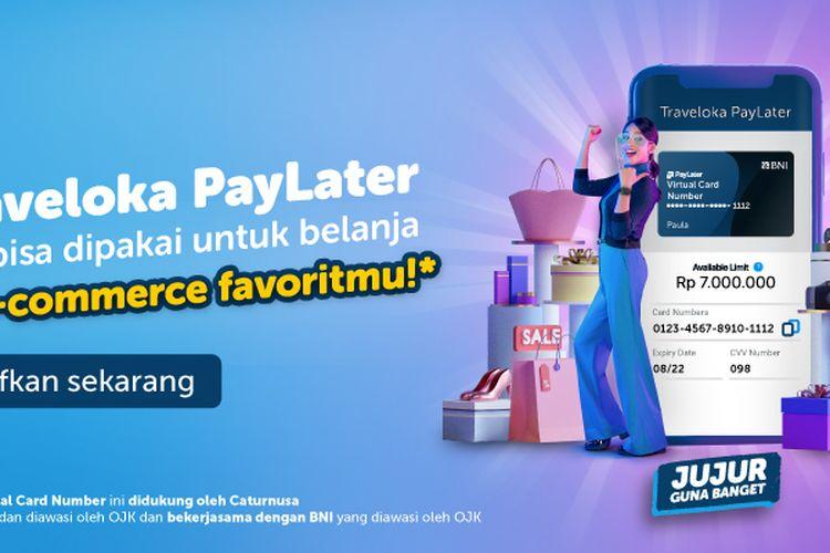 Traveloka PayLater Virtual Card Number