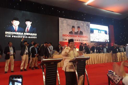 Prabowo: Kita Tidak Puas Pertumbuhan Ekonomi 5 Persen, Kita Mau