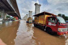 Masih Ada Genangan, Contraflow Diberlakukan di Tol Jakarta-Cikampek