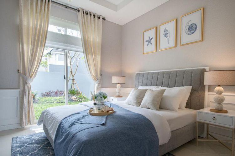 Setiap unit mencakup dua lantai dengan empat kamar tidur yang dirancang dengan konsep rumah tumbuh.