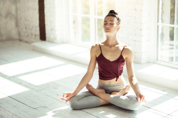 Ilustrasi meditasi