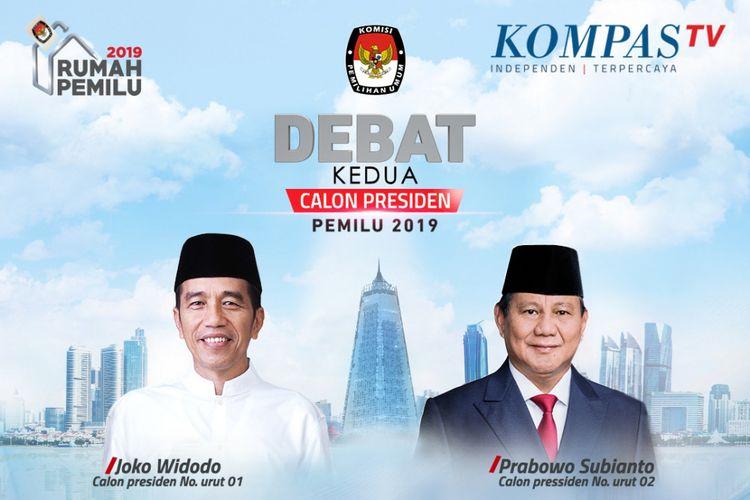 Live Streaming Debat Capres 17 Februari 2019