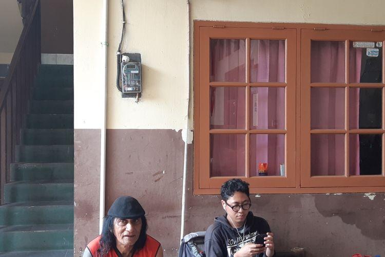 Fredick tetangga di indekost NA saat ditemui di Jalan Rawa Lele, RT 07 RW 01, Kalideres, Jakarta Barat, Kamis (21/11/2019).(KOMPAS.com/ BONFILIO MAHENDRA WAHANAPUTRA LADJAR)