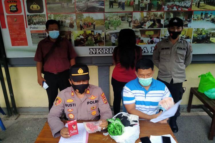 Polsek Negara, Jembrana, Bali, membongkar prostitusi online