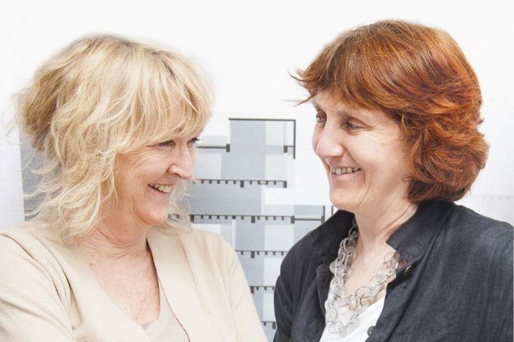 Arsitek Yvonne Farrell dan Shelley McNamara