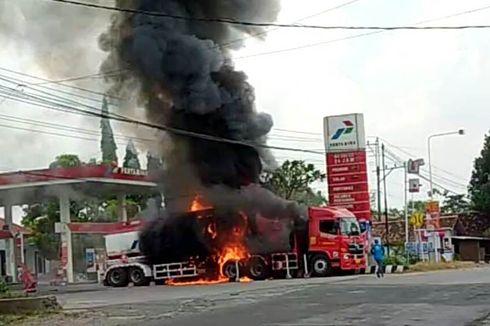 Fakta Truk Tangki BBM Meledak di SPBU Wirosari, Sopir Terbakar dan Terpental