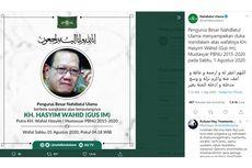 Hasyim Wahid, Adik Bungsu Gus Dur Meninggal Dunia