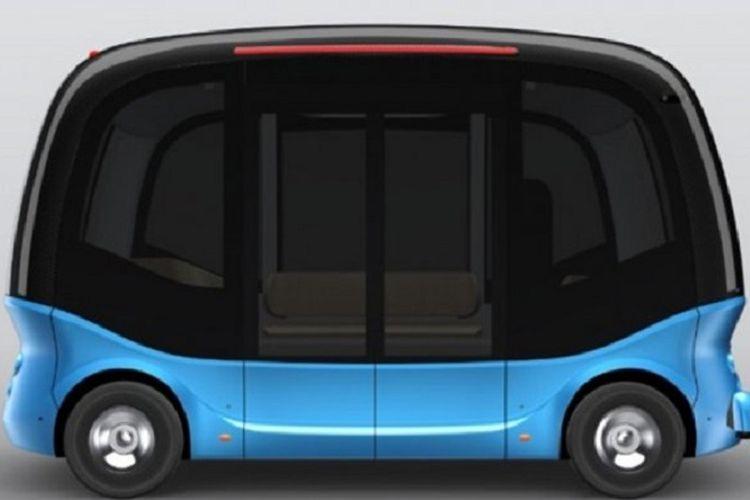 bus otonomos baidu ditargetkan mengaspal di Jepang 2019 mendatang.