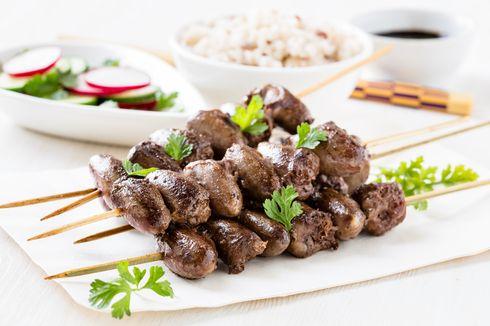 Resep Sate Hati Ayam, Sajikan Bersama Lontong dan Saus Kacang