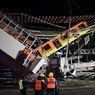 Keluarga Korban Kecelakaan Kereta Metro Meksiko Tuntut Pemerintah karena Lalai
