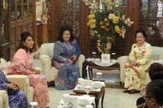 Bertemu Istri PM Malaysia, Megawati Didampingi Mufidah Kalla dan Sejumlah Menteri