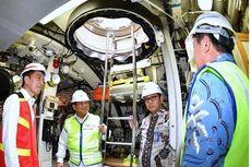 Blusukan ke Kapal Selam Made in Surabaya, Jokowi: Wah, Canggih!