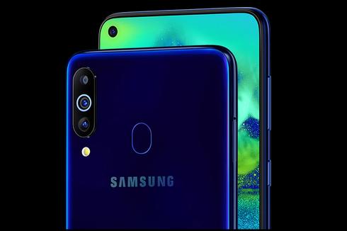 Samsung Galaxy M40 Resmi, Berkamera Lubang Mirip S10