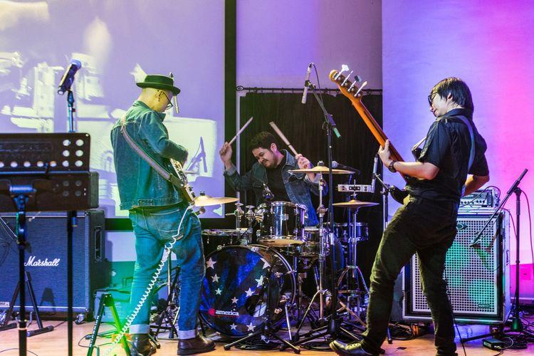 Bangkutaman saat tampil di acara Tribute to Velvet Underground, 2018 lalu.