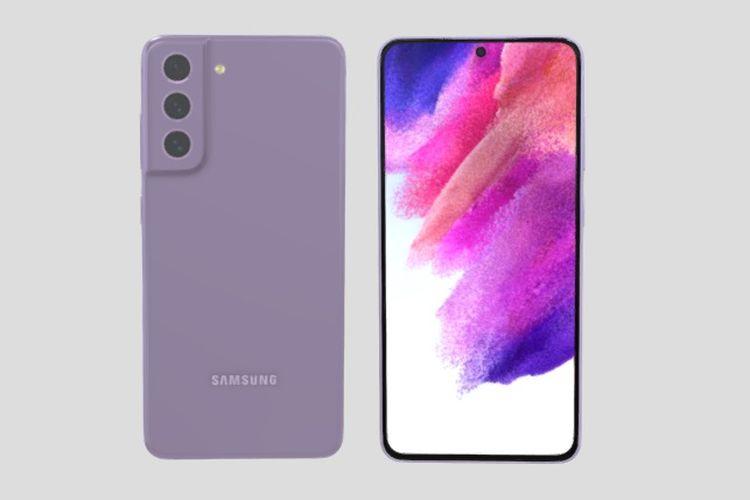 Bocoran wujud ponsel Samsung Galaxy S21 FE