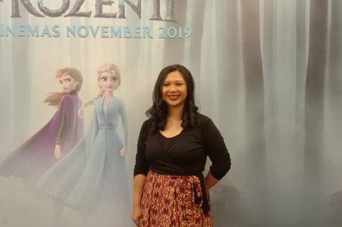 Cerita Griselda Sastrawinata Rancang Kostum Anna di Frozen 2