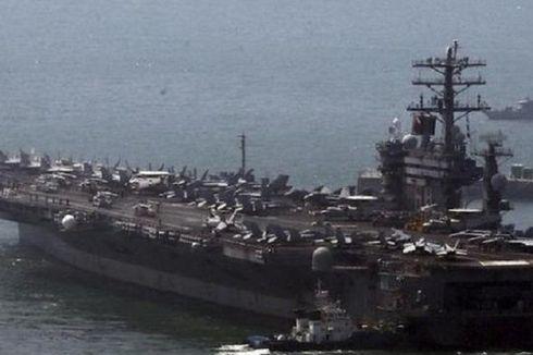 2 Kapal Induk AS Berlatih di Laut China Selatan Disaksikan Kapal China