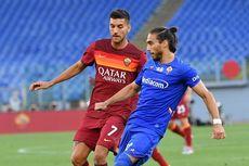 Hasil AS Roma Vs Fiorentina, 2 Gol Penalti Menangkan Serigala Ibu Kota