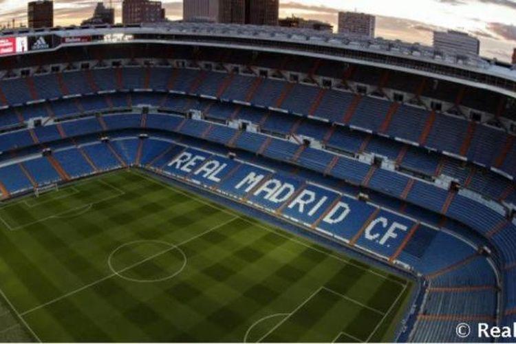 Stadion Santiago Bernabeu, markas Real Madrid.