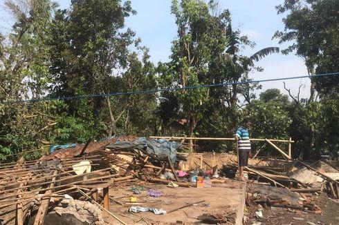 Dihantam Puting Beliung, Rumah Nenek 89 Tahun Rata dengan Tanah